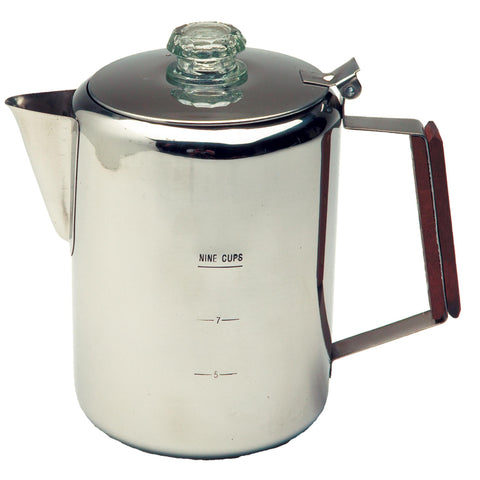 Percolator, Stainless Steel - 9 Cup