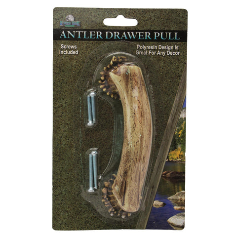"Drawer Handle-Knobs - 4"" Antler"