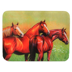 "Cutting Board - Three Horse, Size 12"" x 16"""
