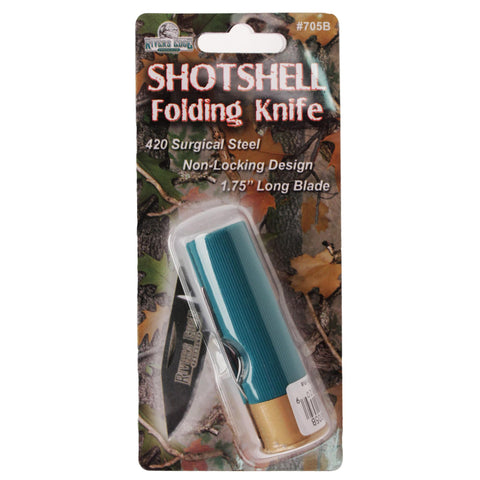 Knife - Shot Shell, Gifts, Promotional Items, 4.38, Rivers Edge Products
