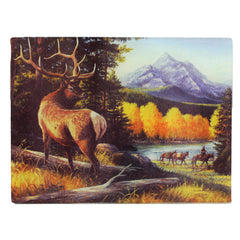 "Cutting Board - Elk, Size 12"" x 16"""