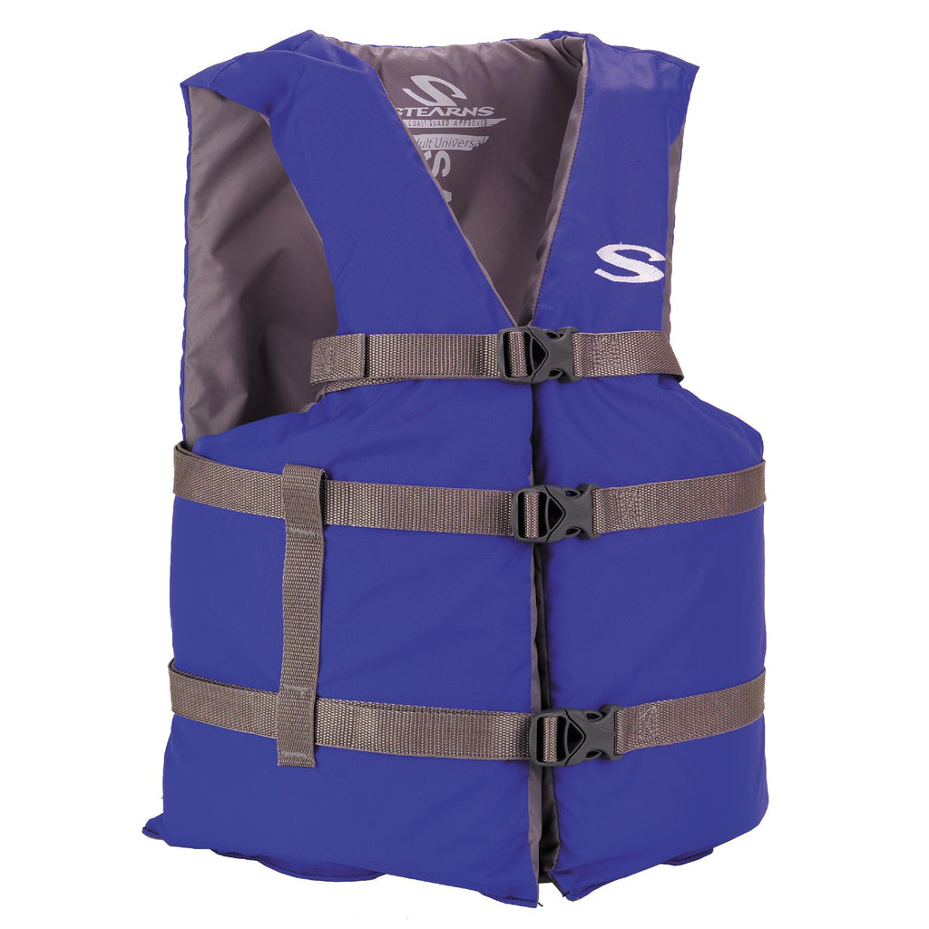 Bryant Outdoors - Adult Classic Boating PFD - Oversized, Blue - Clothing/Apparel - Stearns - outdoors - fishing - hunting - camping - survival