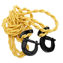 Cordage Stretch Bungee Clothesline, 06 - 12.99, Bungee Clothesline, Cord & Webbing, Rope, Yellow, Climbing & Rappelling, 7.49, Coleman