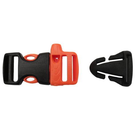 "3-4"" Whistle Sternu Strap Buckle w-Quick Attach T-Glide, Pack Accessories, Backpacks, 6.75, Gear Aid"