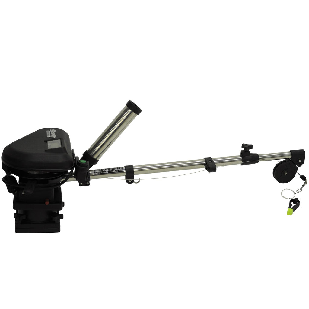 "60"" HP Downrigger - SS Telescoping Boom Base, Downriggers, Downriggers & Accessories, Fishing, 812.99, Scotty"