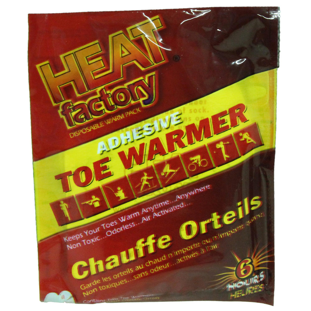 Bryant Outdoors - Adhesive Toe Warmer - Clothing/Apparel - Heat Factory - outdoors - fishing - hunting - camping - survival