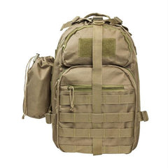 Small Backpack-Mono Strap - Tan