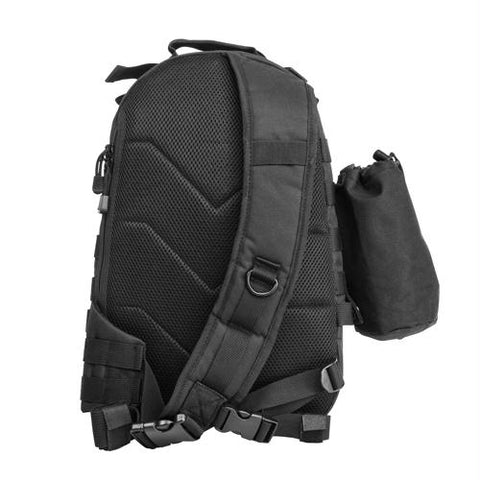 Small Backpack-Mono Strap - Black