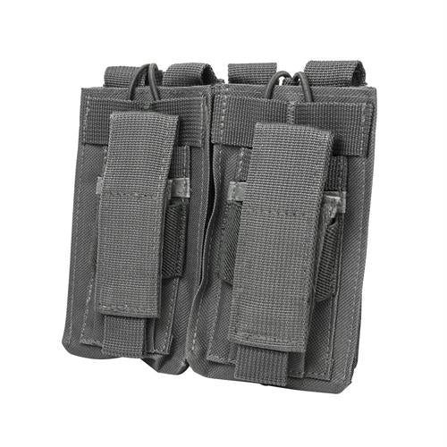 Bryant Outdoors - AR Double Mag Pouch - Urban Gray - Holsters & Accessories - NcStar - outdoors - fishing - hunting - camping - survival