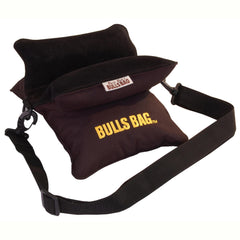 "Field Bag - with Carry Strap, Black, Polyester-Suede, (10"")"