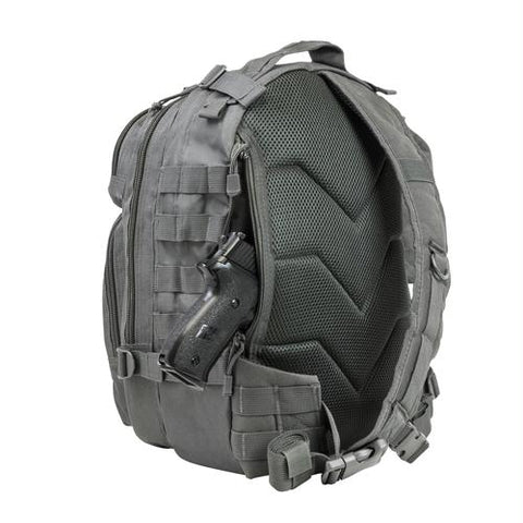 Small Backpack-Bottle Holder - Urban Gray
