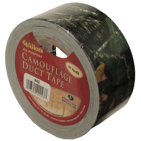 "Mossy Oak Break Up Duct Tape (2""x20 Yards), Tape, Concealment, 10.11, Allen Cases"