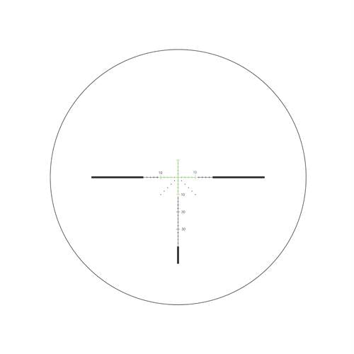 "AccuPower 3-9x40mm Riflescope - 1"" Main Tube, MOA Crosshair Reticle with Green LED, Matte Black, 1"", 3, 40, 9, Matte Black, Scopes & Accessories, Optics, 700.50, Trijicon"