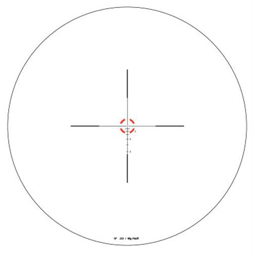 AccuPower 1-4x24mm Riflescope - 30mm Main Tube, Duplex Crosshair Reticle with Red LED, Matte Black, 1, 24, 30mm, 4, Matte Black, Scopes & Accessories, Optics, 900.50, Trijicon