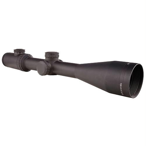 AccuPower 4-16x50mm Riflescope - 30mm Main Tube, Mil-Square Crosshair Reticle with Red LED, Matte Black, 16, 30mm, 4, 50, Matte Black, Scopes & Accessories, Optics, 1000.50, Trijicon