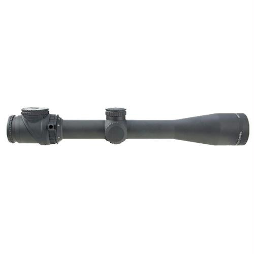 AccuPoint 2.5-12.5x42mm Riflescope - 30mm Main Tube, MOA-Dot Crosshair Reticle with Green Dot, Matte Black, 12.5, 2.5, 30mm, 42, Matte Black, Scopes & Accessories, Optics, 1300.50, Trijicon