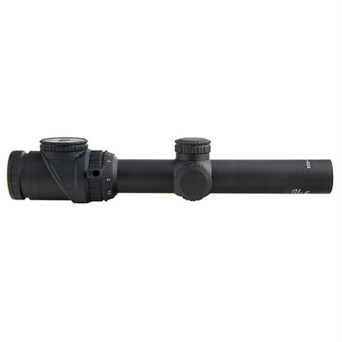 AccuPoint 1-6x24mm Riflescope - 30mm Main Tube, Circle-Cross Crosshair Reticle with Green Dot, Matte Black, 1, 24, 30mm, 6, Matte Black, Scopes & Accessories, Optics, 1400.50, Trijicon
