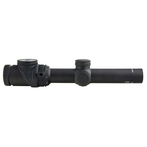AccuPoint 1-6x24mm Riflescope - 30mm Main Tube, Mil-Dot Crosshair Reticle with Green Dot, Matte Black, 1, 24, 30mm, 6, Matte Black, Scopes & Accessories, Optics, 1400.50, Trijicon