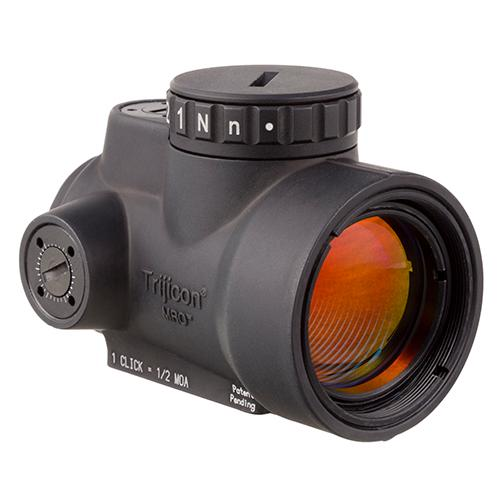 1x25mm Patrol Riflescope with Miniature Rifle Optic (MRO) - 2.0 MOA Adjustable Red Dot Reticle (without Mount), Black, Electronic & Accessories, Red Dot Sights, Sights, Optics, 580.50, Trijicon