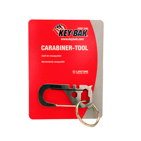 Multi-Tool - Carabiner, 00 - 2.99, Carabiners & Hardware, Stainless, Tools, Climbing & Rappelling, 10.49, T-REIGN Outdoor Products