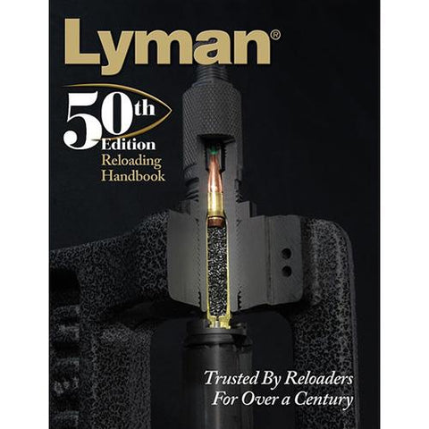 Load Data Book - 50th Edition Reloading, Soft Cover, Reloading Manual, Books, 31.48, Lyman