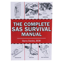 Books - The Complete SAS Survival Manual, Hunting, Survival, Books, 16.45, Proforce Equipment