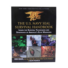 Books - The US Navy Seal Survival Handbook, Hunting, Military, Books, 16.45, Proforce Equipment