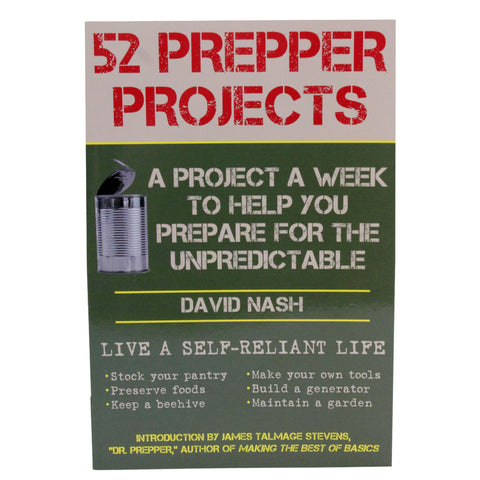 Books - 52 Prepper Projects, Hunting, Survival, Books, 18.45, Proforce Equipment