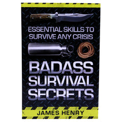 Books - Badass Survival Secrets, Hunting, Survival, Books, 14.45, Proforce Equipment