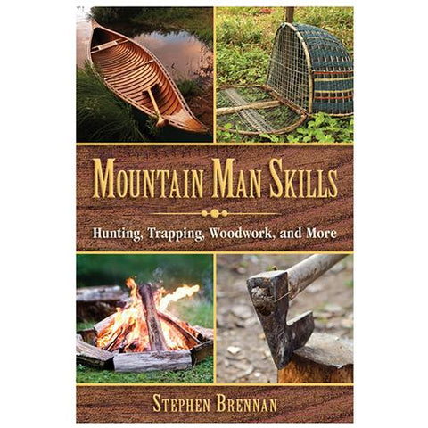 Books - Mountain Man Skills, Hunting, Survival, Books, 19.49, Proforce Equipment