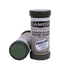 Face Paint - Woodland: Green and Loam, 2 Pack, Paint, Concealment, 8.49, Proforce Equipment