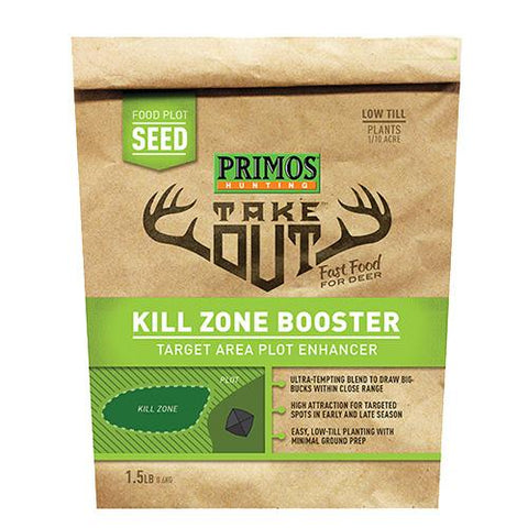 Take Out - Kill Zone Booster Food Plot Seed, 1.50 lb Bag