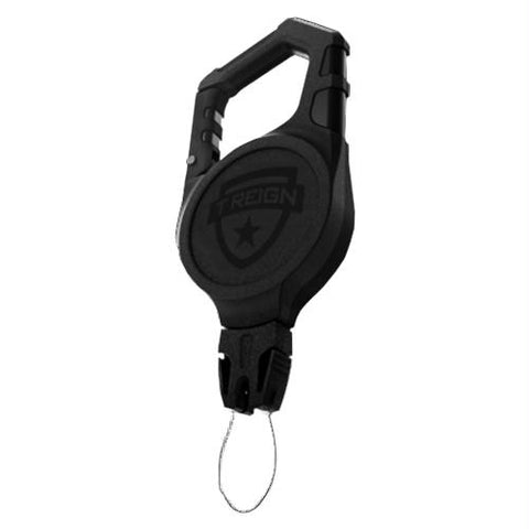 "Carabiner - Super Duty, 36"" Kevlar Cord, Black, 25 - 36.99, Black, Carabiners, Carabiners & Hardware, Climbing & Rappelling, 26.45, T-REIGN Outdoor Products"