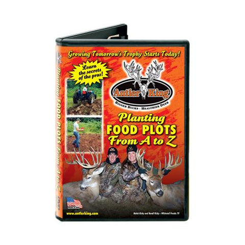 Planting Food Plots From A-Z DVD, Food Plot Seed, Feeders Bait & Seed, 11.45, Antler King