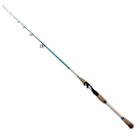 "Wright & McGill Saltwater Spinning Rod - 6'9"" Length, 1 Piece, 4-10 lb Line Rate, 1-8-3-8 oz Lure Rate, Light Power"