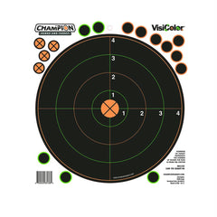 Peel and Stick Targets - 100 Yards Sight In with 30 Pastors, Package of 5