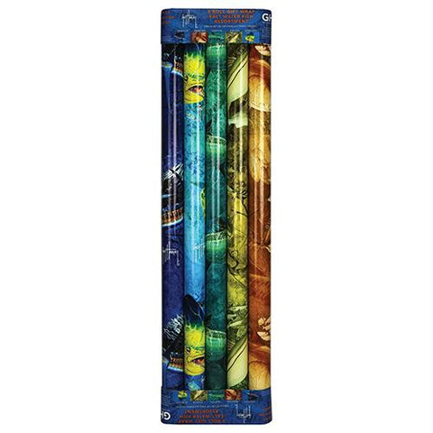 Gift Wrap - Guy Harvey Wrapping Paper, 5 Pack, Gifts, Promotional Items, 10.94, Rivers Edge Products