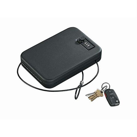 Portable Case - with Combination Lock , Black