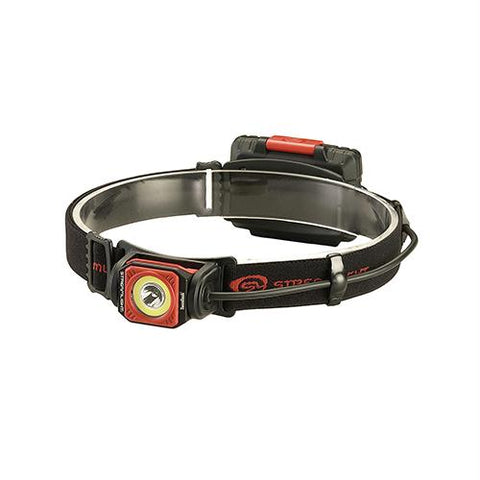 Twin-Task USB Headlamp - Red, Clam Package