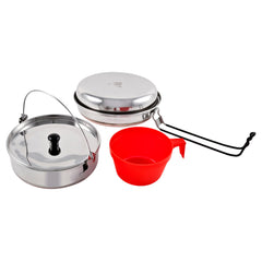 Ridgeline Cookset - Solo, Pots and Pans, Stainless Steel, Cookware, 21.49, Chinook
