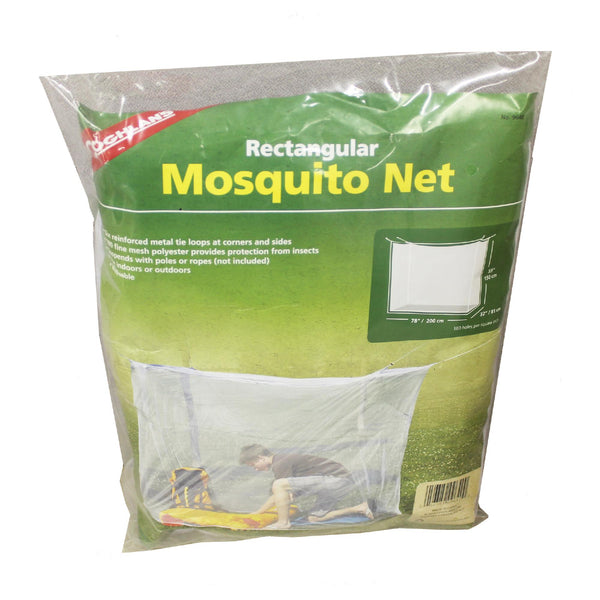 Mosquito Net - Single, White, Hammocks, Mosquito Nets, Sleeping Gear, 10.98, Coghlans