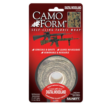 Camo Form - Woodland Digital Military, Tape, Concealment, 17.45, Gear Aid