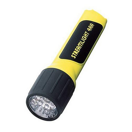 4AA LED - w-Alkaline Batteries, Yellow, AA, Handheld, LED, Standard Flashlights & Accessories, Flashlights & Lighting, 45.80, Streamlight