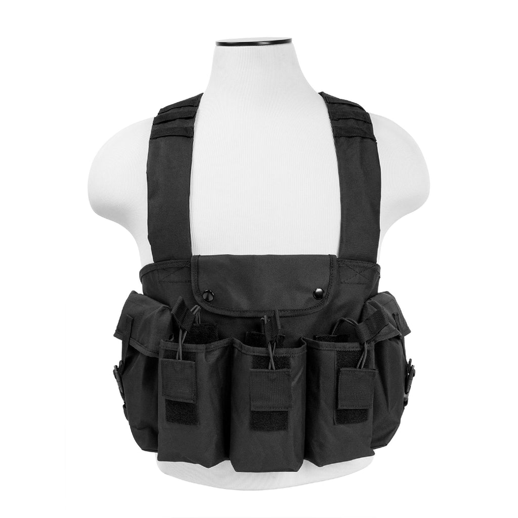 Bryant Outdoors - AK Chest Rig - Black - Holsters & Accessories - NcStar - outdoors - fishing - hunting - camping - survival
