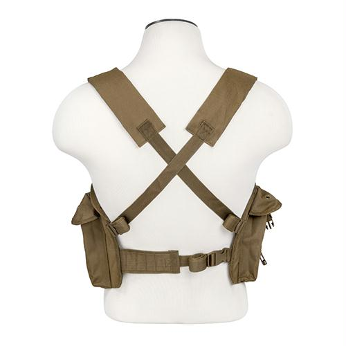 Bryant Outdoors - AK Chest Rig - Tan - Holsters & Accessories - NcStar - outdoors - fishing - hunting - camping - survival