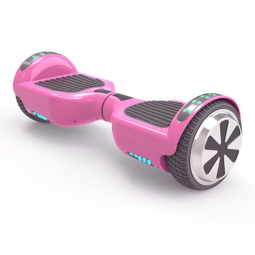 "New 6.5"" UL Certified Safe Bluetooth Hoverboard -Pink"