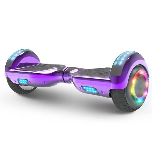 Hoverheart H-Star 6.5'' Self Balancing Hoverboard | Chrome Purple