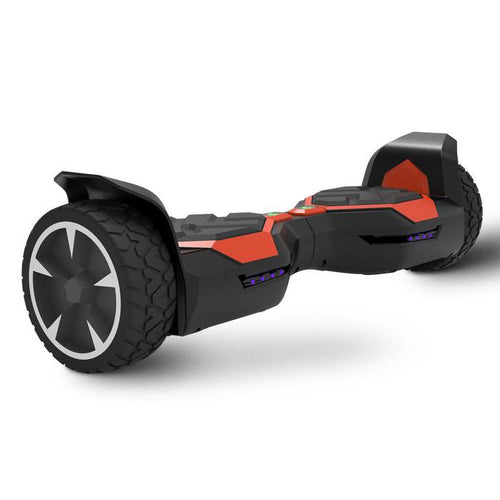 8.5'' Off-Road Hoverboard-Wireless Speaker with LED Light- Red
