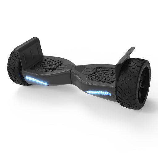 "8.5"" All Terrain Metal Fenders Black Hoverboard with Bluetooth Speaker and LED Lights (UL2272 Certified)"