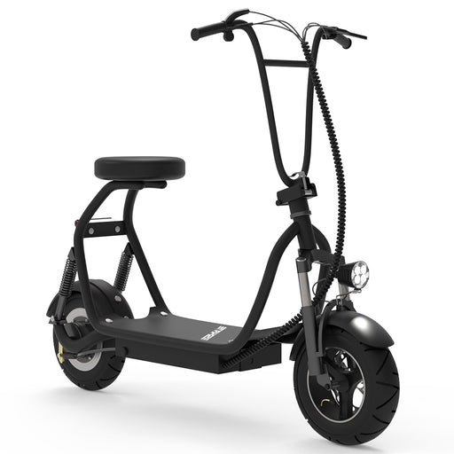 Adult Electric Scooter Up to 18 MPH Commuter Scooter-18.6 Miles Long-Range Battery | Black